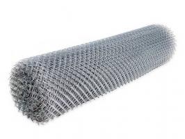 Сетка рабица стальная/оцинокованная из проволоки диаметром 1,2-2,0 мм, размер рулона 1,5м*10м, ячейка 35*35/40*40/50*50/60*60/70*70